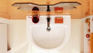 Как правильно установить раковину на пьедестале в совмещённом санузле