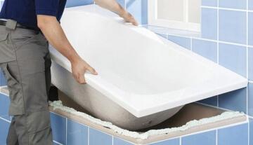 Где заказать акриловую вставку в ванну в городе Тула и Тульской области?