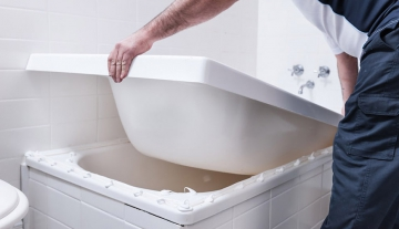 Реставрация ванны самым правильным способом. Новая ванна за два часа
