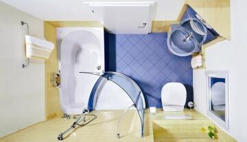 Как полностью отремонтировать ванную комнату с минимальными затратами