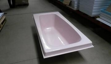 Что такое акриловый вкладыш в старую ванну?